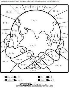 photograph relating to Printable Pictures of the Earth called No cost Printable Globe Working day Worksheets for Youngsters - Preschool and