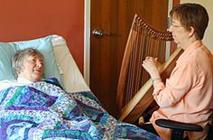 Image from the Harp for Healing program. This is the only completely self-study program and it requires no traveling. I am hoping to take this course, myself.