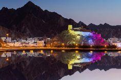 Oman | Fort Jalali, Muscat. credit: Hussain Al-Bahrani. view on Fb https://www.facebook.com/OmanPocketGuide #oman #traveltooman #destination