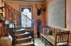 ...a wonderful old staircase.