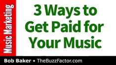 The Secret to Making Money with Music (Bob Baker Podcast) Your Music, Music Is Life, Live Music, How To Make Money, How To Get, Music Heals, Music People, Music Therapy, Indie Music