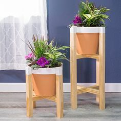 HOME DZINE Home DIY | DIY wooden plant stand