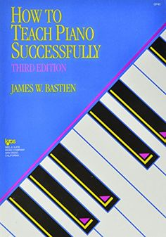 21 best piano pedagogy books images on pinterest piano classes how to teach piano successfully third ed used book in good condition fandeluxe Choice Image
