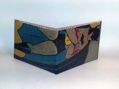 Comic Book Wallet// Golden Age Batman by micahmyers on Etsy