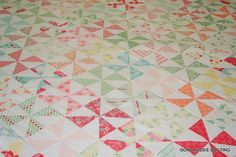 Sweet and Swell Pinwheel Quilt Top