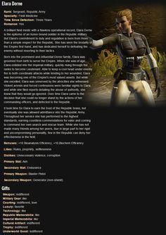 SWTOR. Trooper Companion: Elara Dorne
