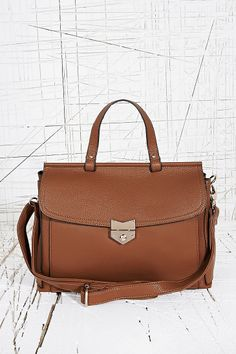 Deena & Ozzy Arrow Lock Bag in Tan £30.00 • was £48.00