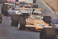 1971 Denny Hulme Mclaren-Ford M19A Alemania Nurburgring