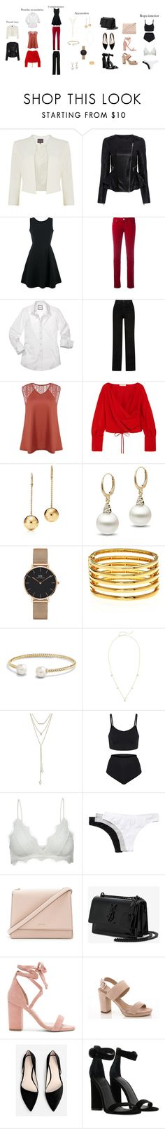 """Sin título #135"" by loraine-parroquin on Polyvore featuring Phase Eight, Marissa Webb, Emporio Armani, Armani Jeans, Khaite, Adeam, Daniel Wellington, Kenneth Jay Lane, David Yurman y ZoÃ« Chicco"