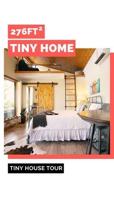 Tyni House, Tiny House Living, Small Living, Small Room Design Bedroom, Tiny House Luxury, Tiny House Storage, Micro House, Tiny House Movement, New Homes