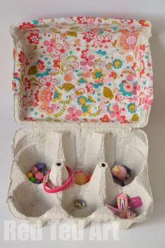 Treasure box craft idea