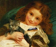 Sophie Anderson (1823-1903) - Awake
