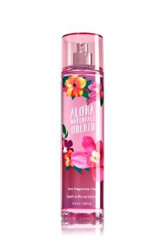 Signature Collection Aloha Waterfall Orchid Fine Fragrance Mist - Bath And Body Works Perfume Victoria Secret, Victoria Secret Fragrances, Bath N Body Works, Bath And Body Works Perfume, Whipped Body Butter, Fragrance Mist, Body Mist, Body Lotions, Body Spray