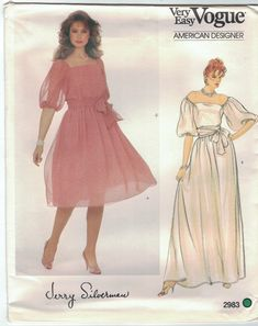 Vogue Sewing Patterns, Vintage Sewing Patterns, Party Gown Dress, Alternative Wedding Dresses, Evening Party Gowns, Bubble Skirt, Miss Dress, Sheer Fabrics, Fitted Bodice