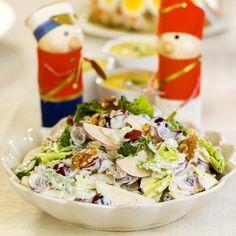 Den beste waldorfsalaten! Grains, Rice, Food, Essen, Meals, Seeds, Yemek, Laughter, Jim Rice