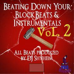 Beating Down Your Block Beats & Instrumentals, Vol.2 Cover