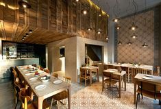 Arquitetura e Interior do Restaurante Capanna- beautiful restaurant interior
