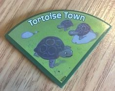 Cranium Zooreka Board Game Replacement Habitat Piece - Tortoise Town - Zoo Parts