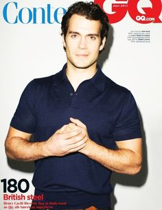 Just that tiny smirk is enough to make me melt. Seriously. #henrycavill #superman #greekgod #gorgeous