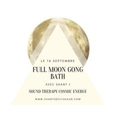 FULL MOON GONG BATH Gong Bath, Full Moon, Cosmic, Yoga, Nantes, Harvest Moon, Yoga Tips