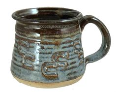 Horseshoe Print Mug... hey!  A horse ran around my coffee mug!