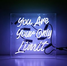 You Are Your Only Limit via www.helloconfettidreams.com