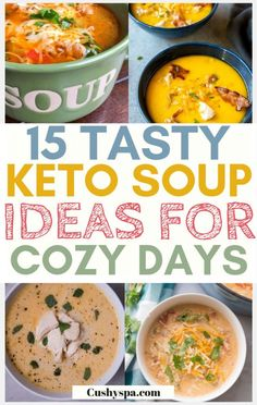 Loving the keto recipes? Try these keto soup ideas and cook these soupds as comfort food - they& put you into ketosis too, so it& a win win. Keto Foods, Ketogenic Recipes, Ketogenic Diet, Ketosis Diet, Soup Recipes, Diet Recipes, Healthy Recipes, Dessert Recipes, Healthy Meals