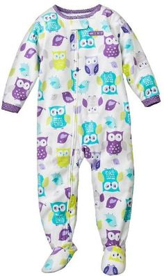 "Carter's Baby Girls One-piece Micro Fleece ""Whoo's « If a certain auntie finds this, I'm sure little miss M will have it, now if only her auntie could have a matching set ;)"