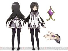 Homura Akemi - Puella Magi Madoka Magica. If I do voice her I'll probably want to cosplay her.