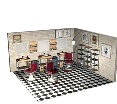 Barber Shop Ideas Barber Shop Design Modern Barber Shop Modern Barber Shop, Classic Barber Shop, Barber Shop Interior, Barber Shop Decor, Shop Front Design, Love Design, Modern Design, Barbershop Design, Barbershop Ideas