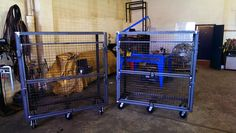 Calgarywelders.com manufactures of fine quality storage or tool cages, these awesome cages can be modified to suit your needs or as is ready for work