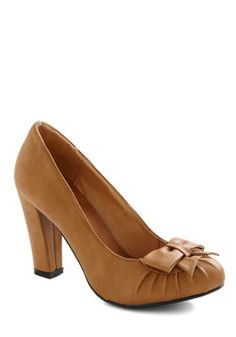 Pump and Circumstance Heel, #ModCloth I might die if these do not somehow end up in my closet...