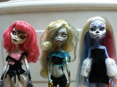 Made to Order  custom monster high repaints by obscurethinking, $30.00