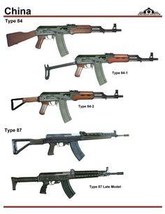 Китай: Type 84, Type 87