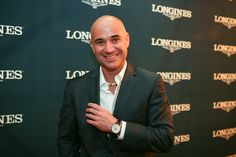 Andre Agassi (Tennis player) - Longines Brand Ambassador
