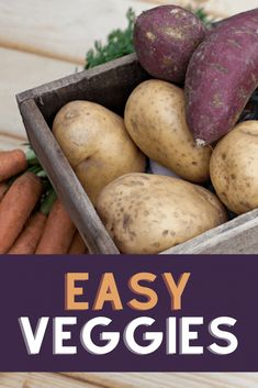 The easiest vegetables to grow are quick, pest-resistant crops that don't require much maintenance in the garden. Here are 12 easy veggies to plant if you're planning on gardening this spring! Easy Vegetables To Grow, Healthy Vegetables, Veggies, Vegetable Garden For Beginners, Gardening For Beginners, Vegetable Gardening, Edible Plants, Edible Garden, Organic Gardening Tips