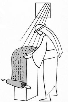 Annie Vallotton - Good News Bible Jesus Sketch, Good News Bible, Bible Drawing, Bible Illustrations, Bible Art, Bible Verses, Armor Of God, Illustrated Faith, Line Illustration
