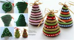 crochet-christmas-trees