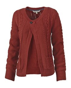 Drew cable cardigan - the colour!