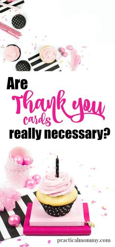 Are Thank You Cards