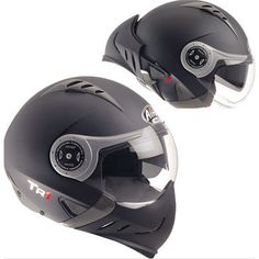 AIROHヘルメット TR1 COLOR フルフェイス/ジェット ヘルメット マットシルバー - motorcycle-usa