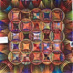 Karen Stone's Indian Orange Peel quilt Karen K. Stone Quilts Book