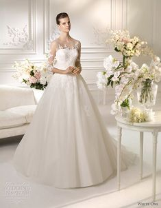 White One Wedding Dresses 2013 | Wedding Inspirasi