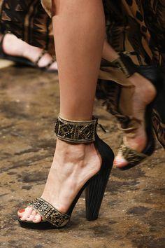 Donna Karan | Spring 2014 Accessories  #NYFW