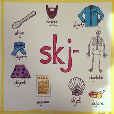 Skj-lyden Play School Activities, Danish Language, Norway Language, Barn Crafts, Drawing Conclusions, Classroom Walls, Communication Skills, Best Teacher, Kids Education