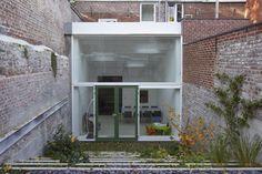 ectv architecten - projecten: Woning Leuven