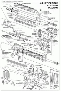 ruger ar 15 exploded diagram causal loop template parts list steve s stuff