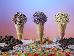 Marble Slab Creamery has launched ice cream offerings inspired by the Candy…