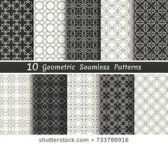 Similar Images, Stock Photos & Vectors of Triangle geometric vector pattern,patt… – Tattoo Pattern Geometric Patterns, Geometric Tattoo Pattern, Vektor Muster, Banners, Arabic Pattern, Line Background, Black And White Lines, White Stock Image, Texture