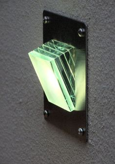Surface mount step-lights and recessed step lighting for steps, stairs and around terrace areas. Lighting ideas for gardens. Indoor Step Lights, Led Step Lights, Led Path Lights, Solar Deck Lights, Wall Lights, Lighting Setups, Deck Lighting, Exterior Lighting, Lighting Solutions
